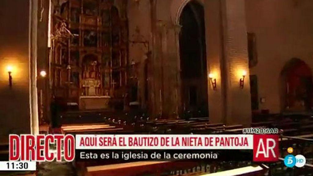 El recorrido que harán los invitados del bautizo de Ana, la hija de Kiko Rivera e Irene