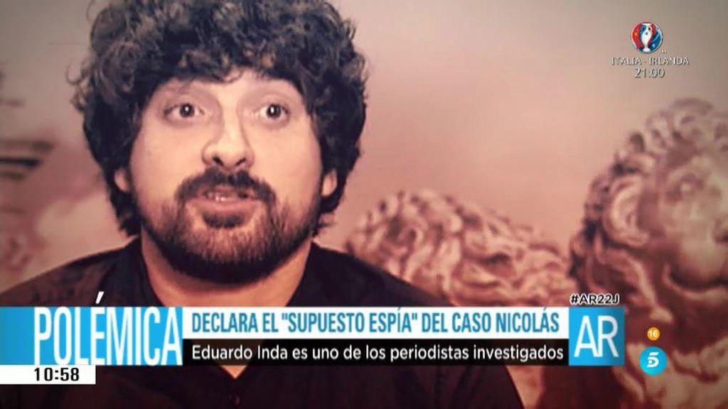 Carlos Mier, el periodista que supuestamente es el espía del Caso Nicolás