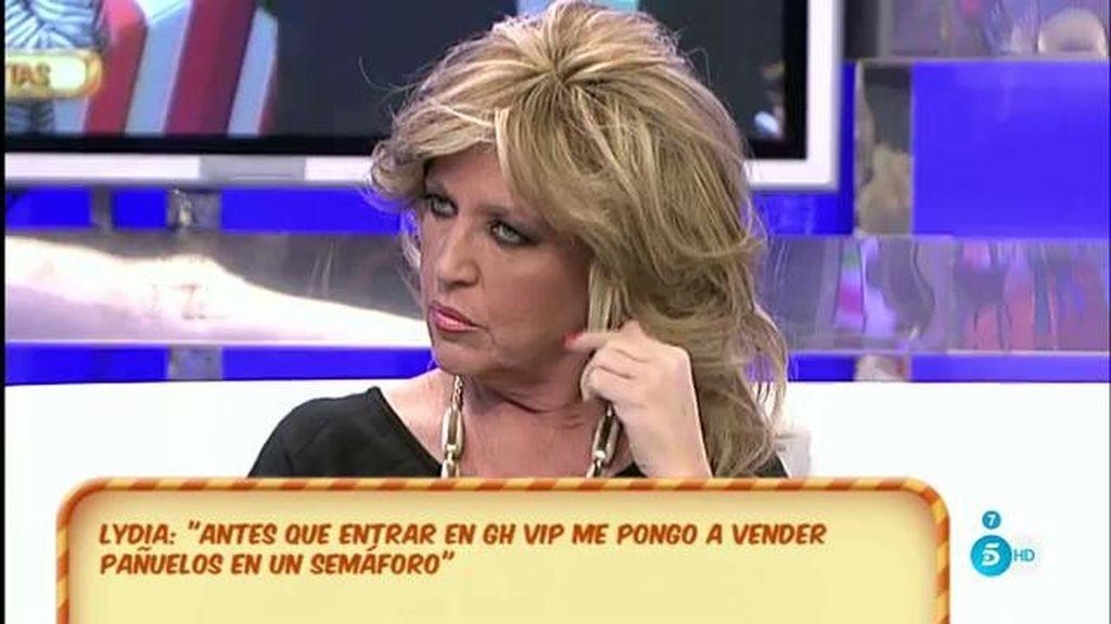 Lydia Lozano preferiría vender pañuelos en un semáforo que concursar en 'GH VIP'