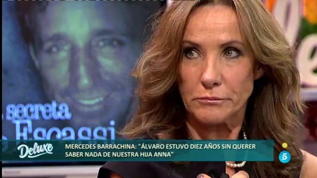 """Mercedes: """"Álvaro y yo quedamos en contárselo a Anna cuando tuviera 18 años"""""""