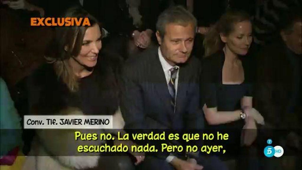 """Javier Merino: """"La forma de ser felices es no ver nunca esos programas ni nada"""""""