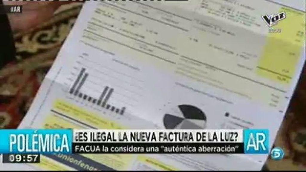 """Rubén Sánchez, de FACUA: """"La nueva factura de la luz no es legal"""""""