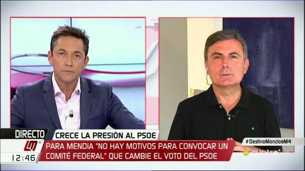"""Pedro Saura: """"De la negociación PP-Ciudadanos saldrán recortes del Estado de Bienestar"""""""