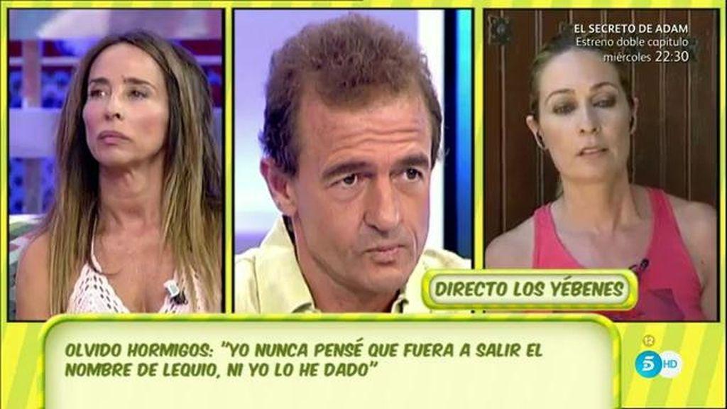 """María Patiño: """"Pedí perdón inmediatamente a Alessandro, no estuve a la altura"""""""