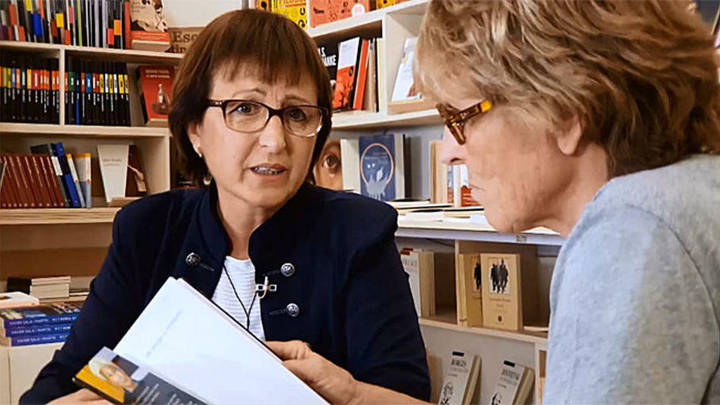 """Mercedes López: """"Tengo cáncer pero soy feliz, los libros me han ayudado mucho"""""""