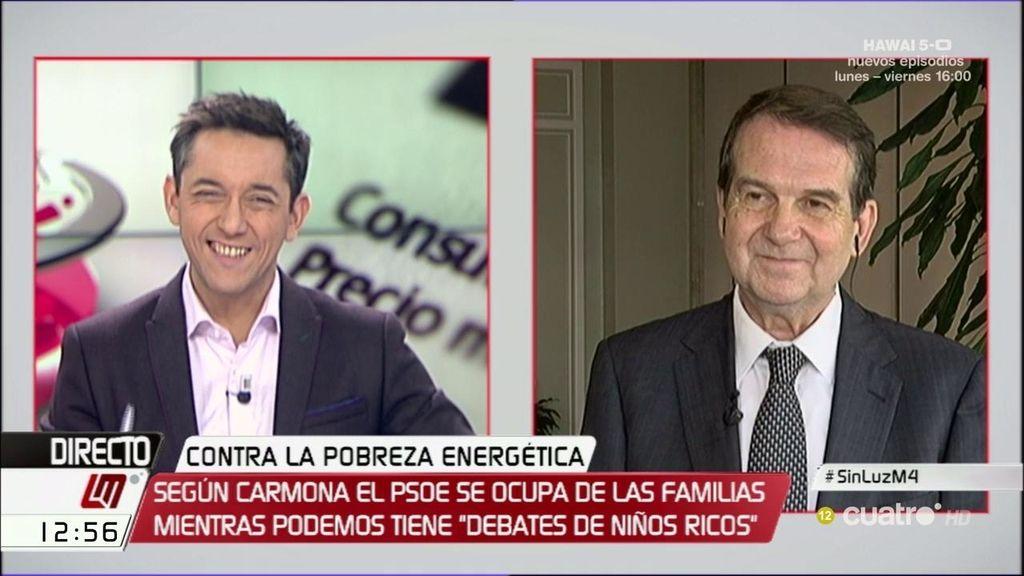 """Abel Caballero (PSOE): """"A Podemos sólo le gusta el 'postureo"""""""