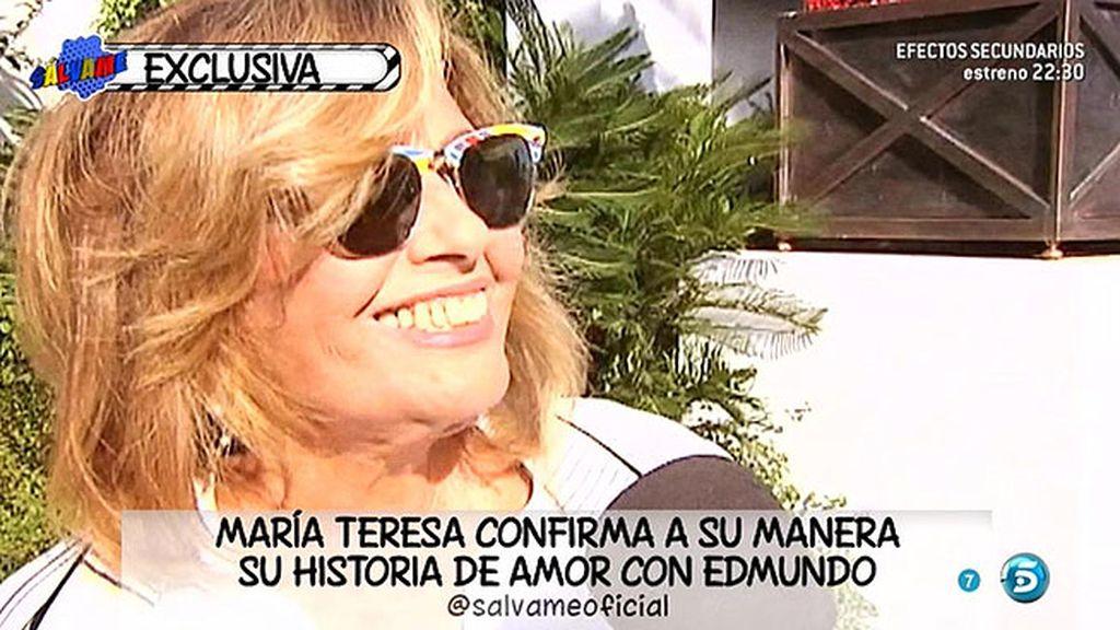 """María Teresa: """"Las cosas tienen que ir a su paso, no queramos ir más deprisa"""""""