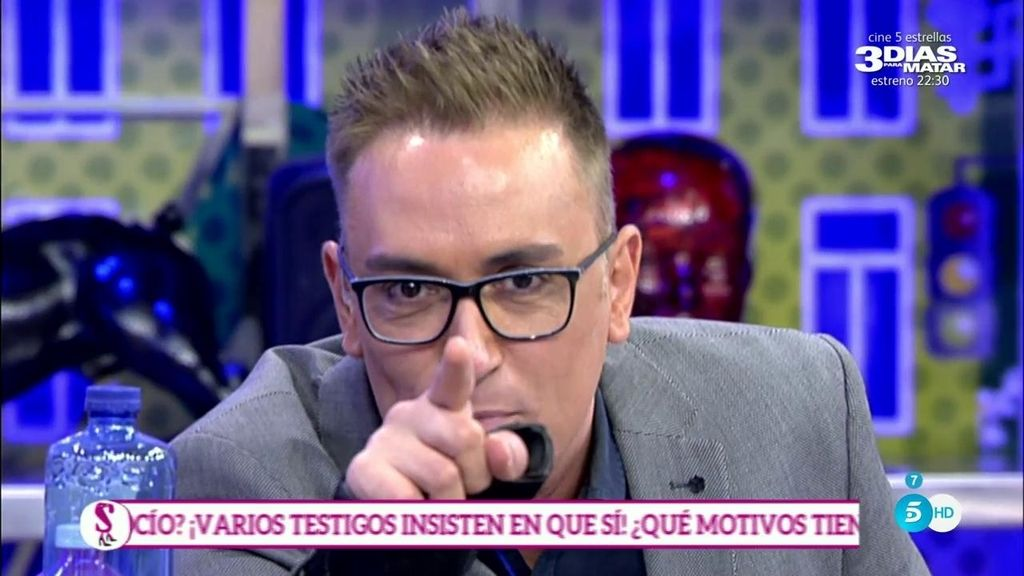 """Kiko Hernández, a Toño Sanchís: """"¿Por qué te despidieron de uanp roductora en el 2005?"""