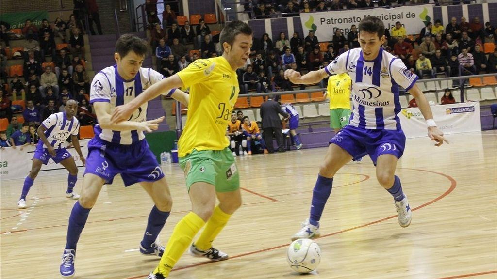 Jaén Paraíso Interior y Montesinos Jumilla empatan en el último segundo (3-3)