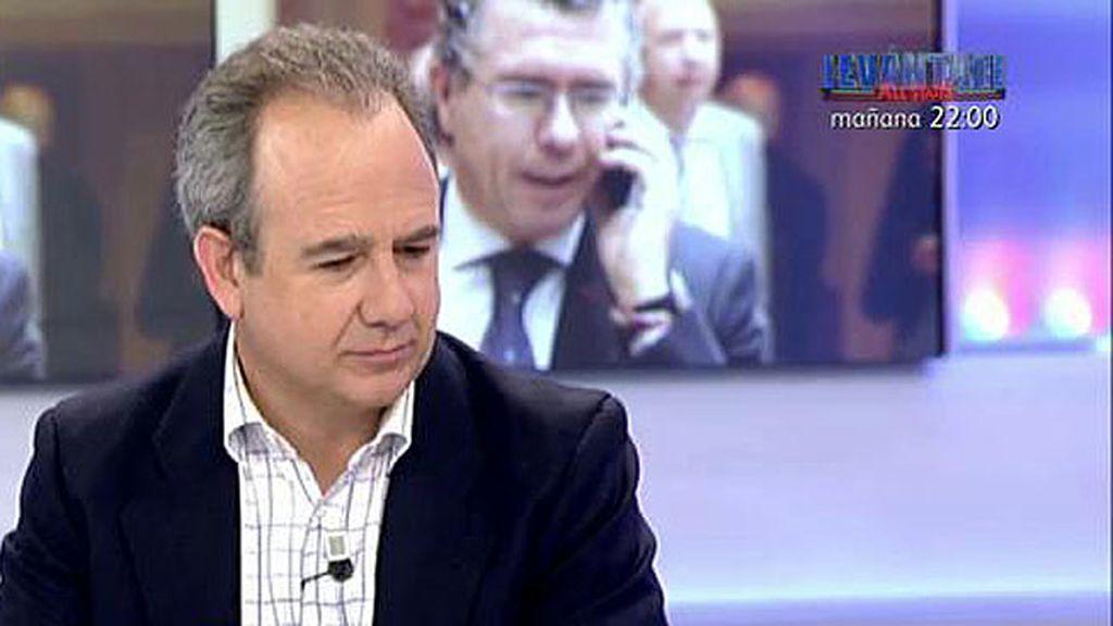 """Panero: """"Bárcenas y Granados siempre han sido los interlocutores para esto"""""""