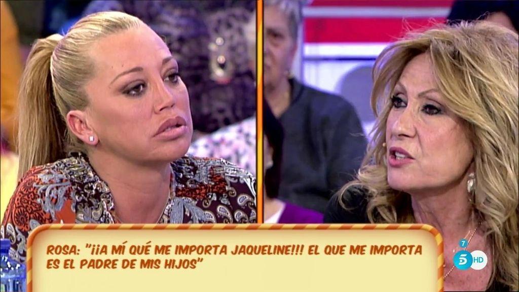 """Belén Esteban: """"No veo bien el tonteo que te has traído Rosa Benito"""""""