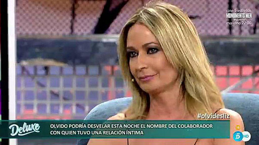 """Olvido Hormigos: """"Él vino a verme a la sala vip de Telecinco y me pidió el número"""""""