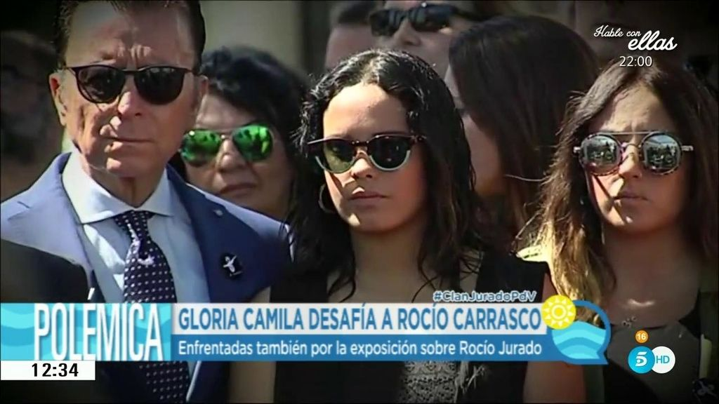 "Gloria Camila: ""No he visto a Rocío venir para supervisar lo que se ha hecho para su madre"""