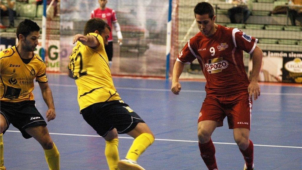 ElPozo Murcia derrota con facilidadal Colegios Arenas Gran Canaria (7-2)