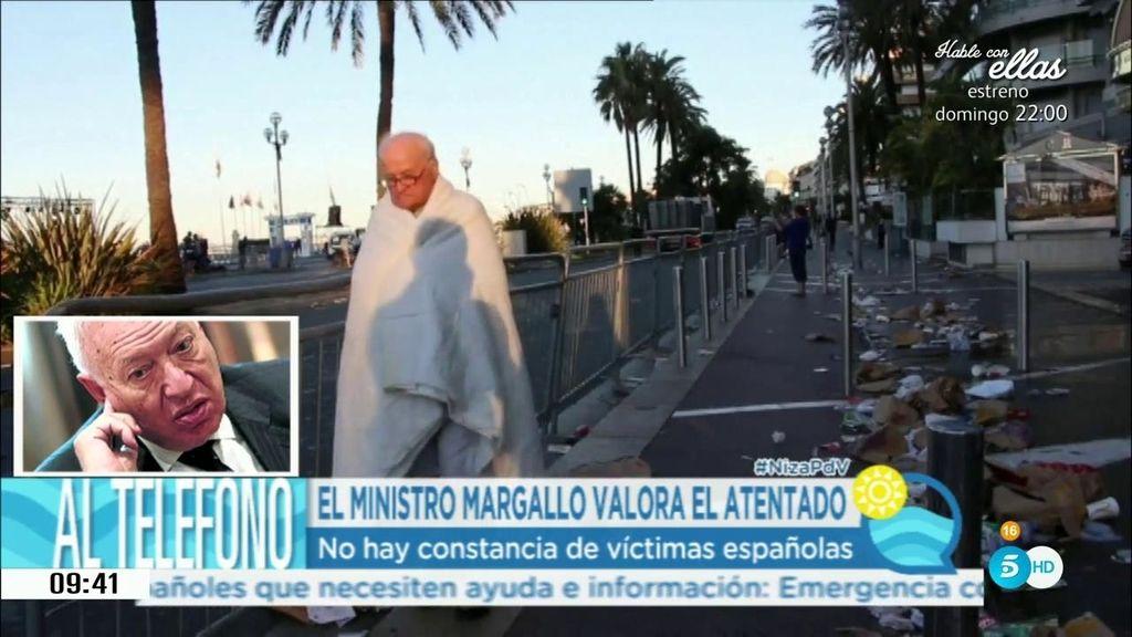 """García-Margallo: """"Por ahora, no hay muertos ni heridos españoles"""""""