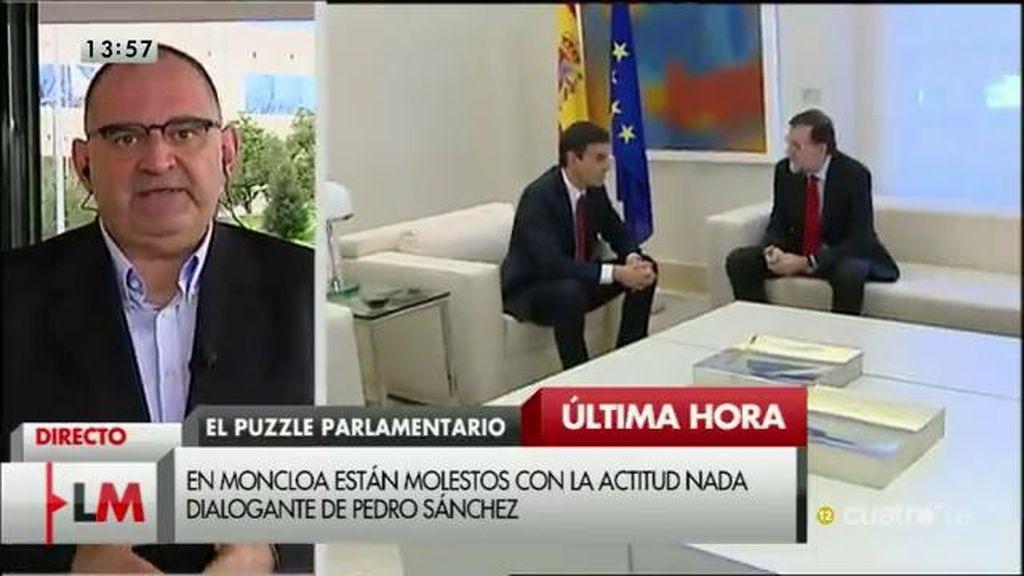 """A. Losada: """"Creo que Rajoy se había instalado en la idea de que iba a ser presidente del Gobierno porque sí"""""""