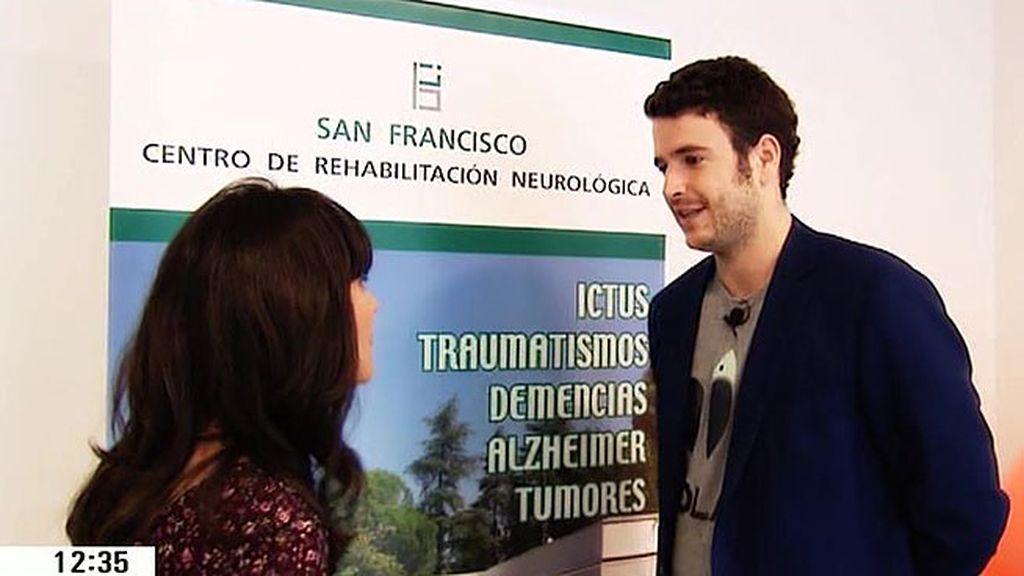 Álex Lequio pone en marcha una fundación para la rehabilitación de personas sin recursos que han sufrido un ictus