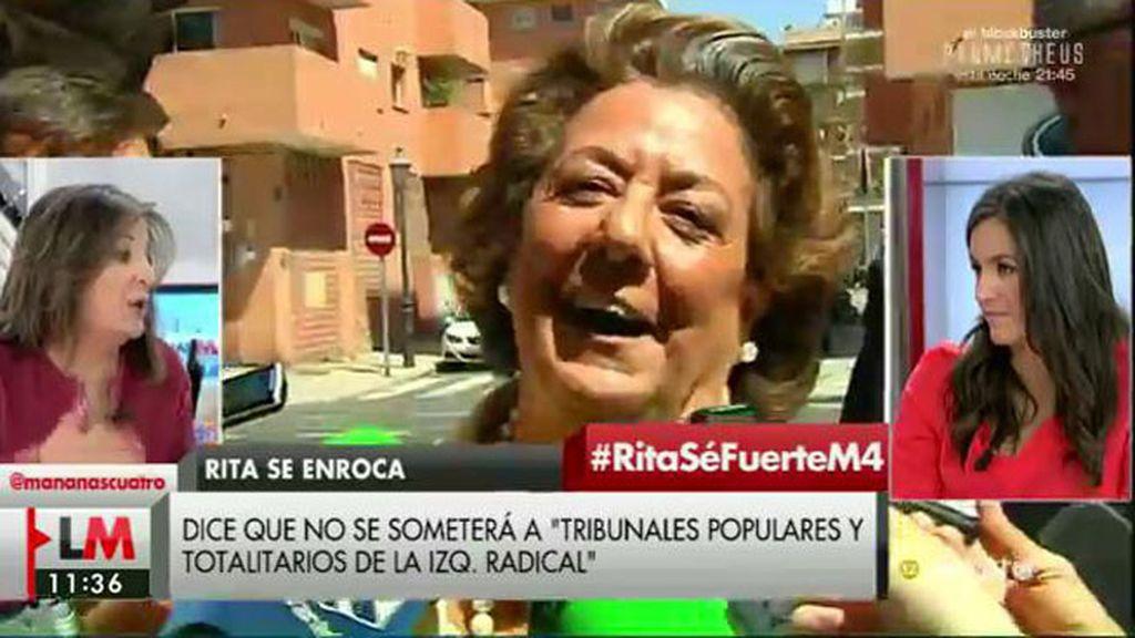 """Begoña Villacís, de Barberá: """"La mejor prueba es que se atreva a ser juzgada"""""""