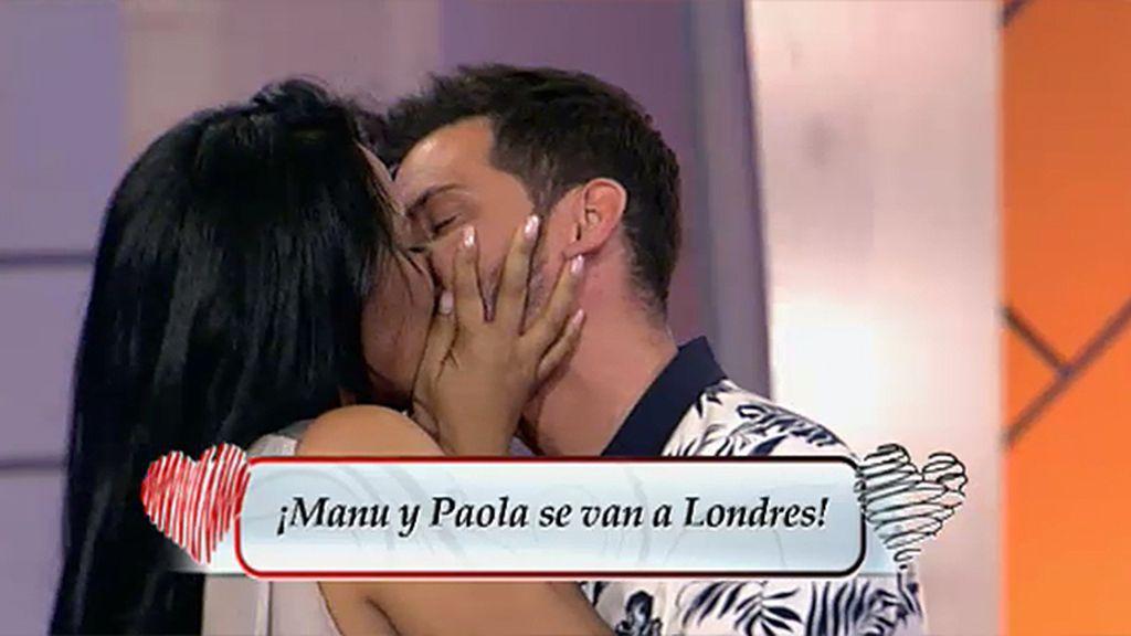 ¡Manu y Paola se van a Londres!