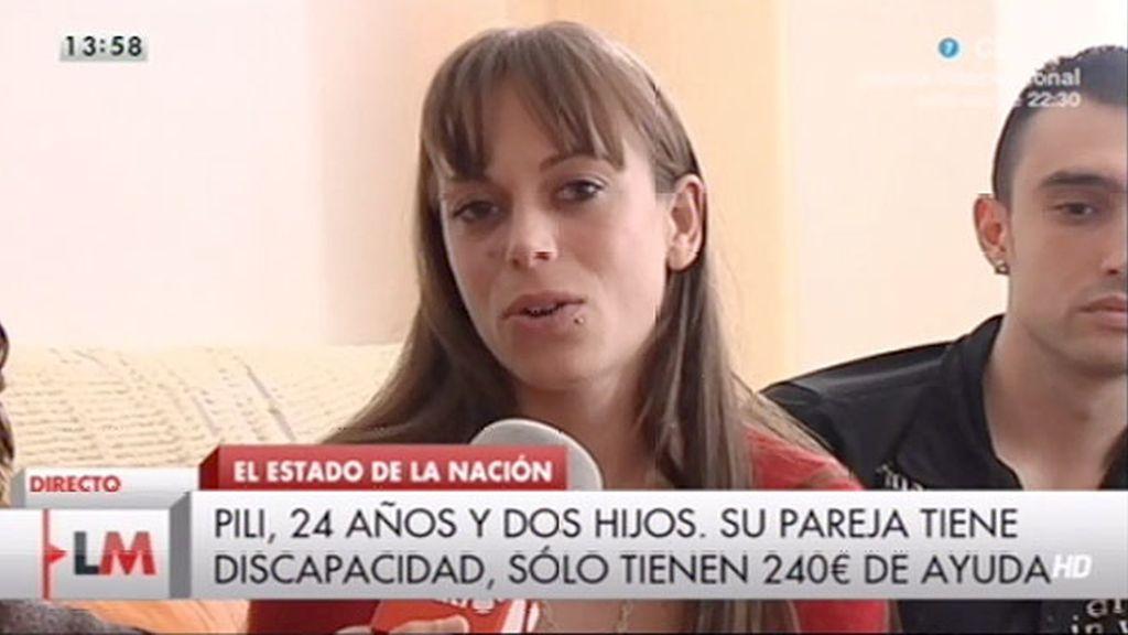 Pilar pide ayuda en 'LMDC'
