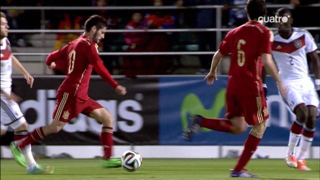 Isco se marca un partidazo contra Alemania y se da una alegría con la Sub-21