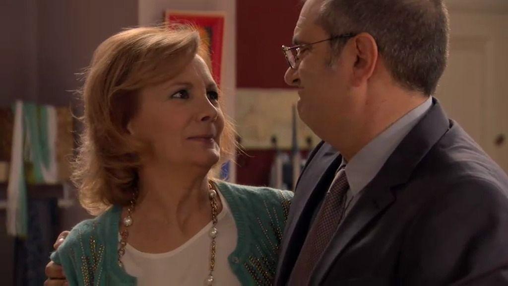 """Maruchi, a Zabaleta: """"Vamos a terapia matrimonial por favor, que me hace ilusión"""""""