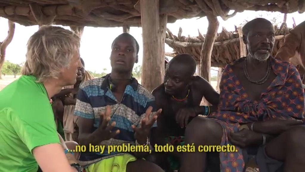Jesús Calleja se va a Namibia en busca de elefantes salvajes