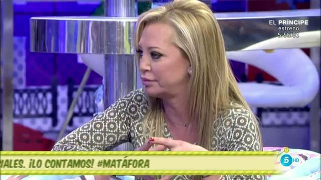 """Belén Esteban, de Kiko Matamoros: """"No hay relación y, por mi bien, no la va a haber"""""""
