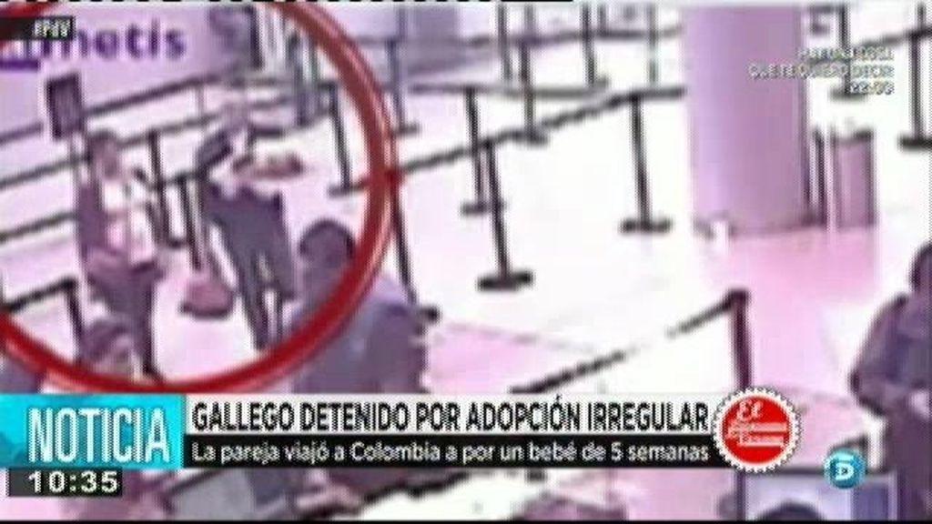 Detienen a un gallego en Colombia por un supuesto delito de tráfico de bebes