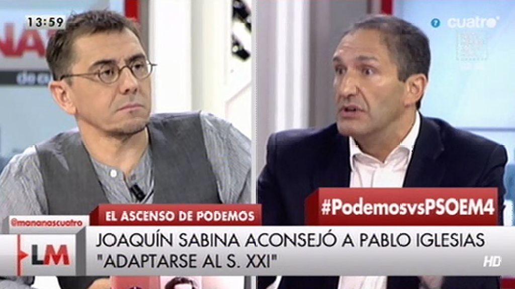 """Que recurra a Sabina me hace pensar que Pedro Sánchez va a durar lo que duran dos peces de hielo en un whisky on the rocks"""