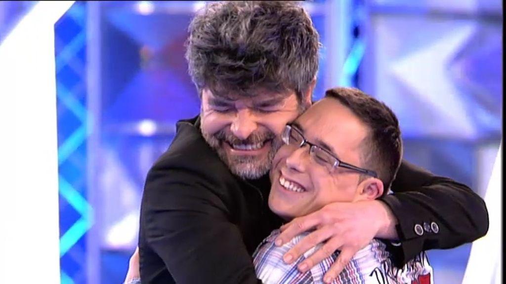 """Nacho Guerreros, a Lucas: """"Eres un fiera"""""""