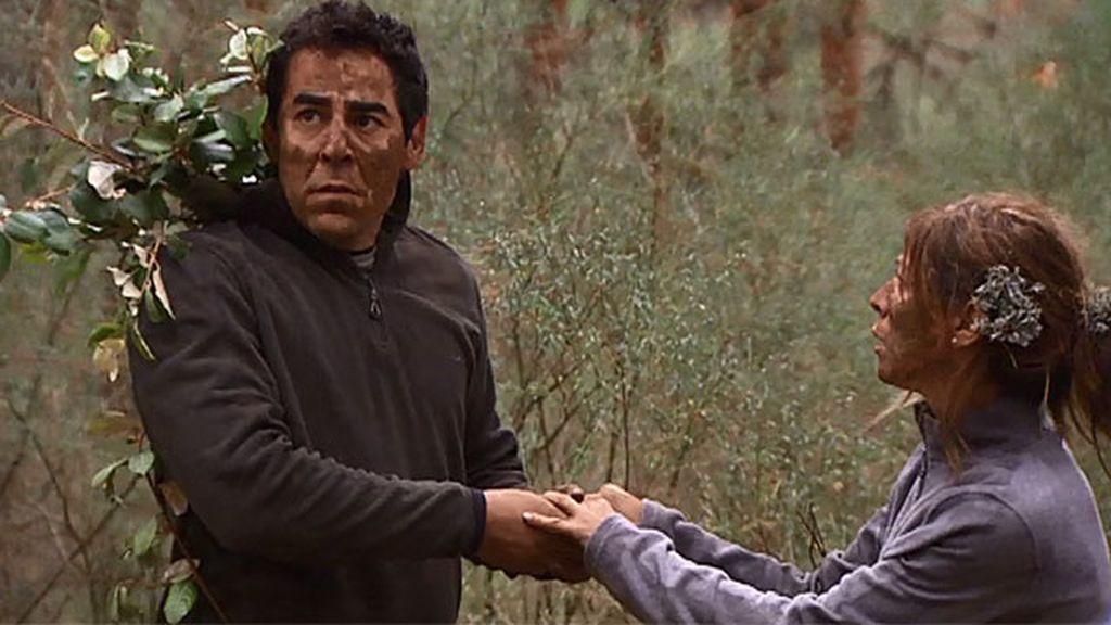 Amador, acorralado por las fuerzas del orden