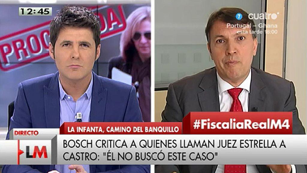 """Bosch: """"Creo que el auto del juez Castro está ampliamente motivado"""""""