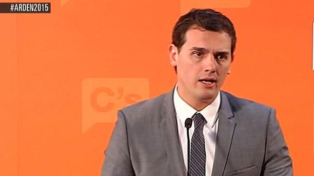 """Rivera: """"El problema del discurso de Rajoy es que carece de un principio de realidad"""""""