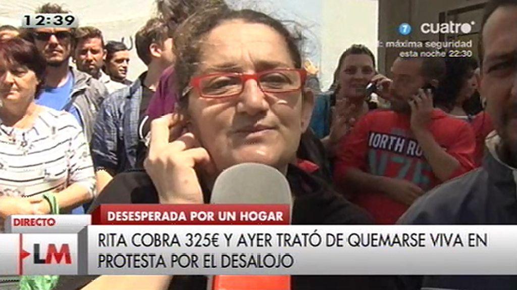 "Rita Ramos: ""Si no me quitan el mechero, hubiese ardido"""