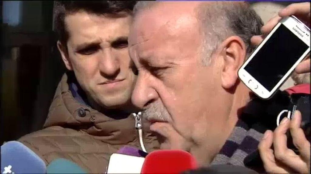 """Del Bosque: """"Por muchos años que pasen, nunca nos olvidaremos de Luis Aragonés"""""""
