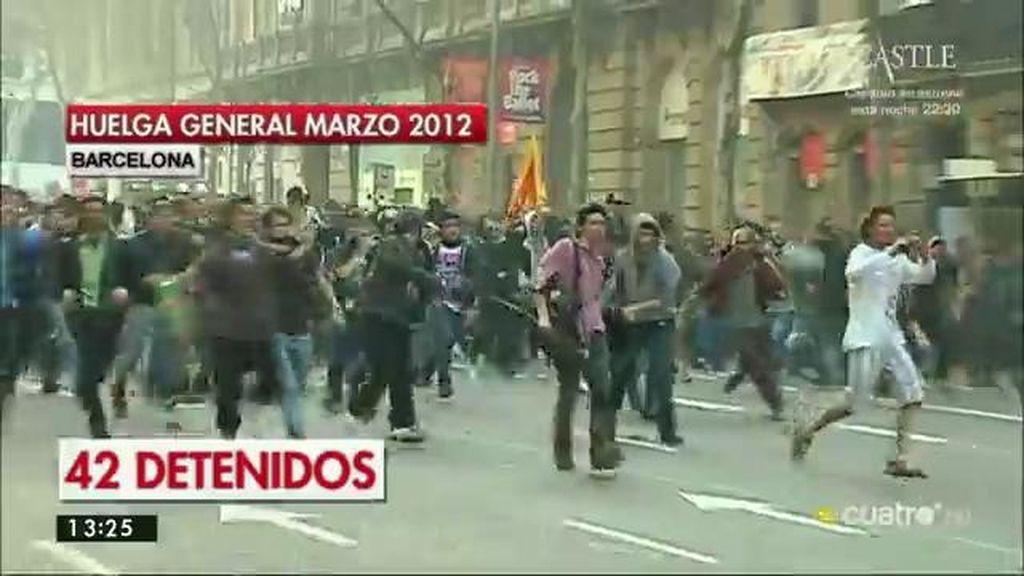 La Generalitat se retira de la acusación contra detenidos por graves disturbios