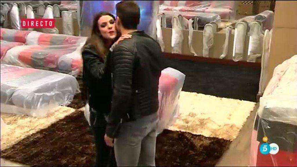 El tenso reencuentro de Javier Tudela y Laura Matamoros en 'GH VIP 4'