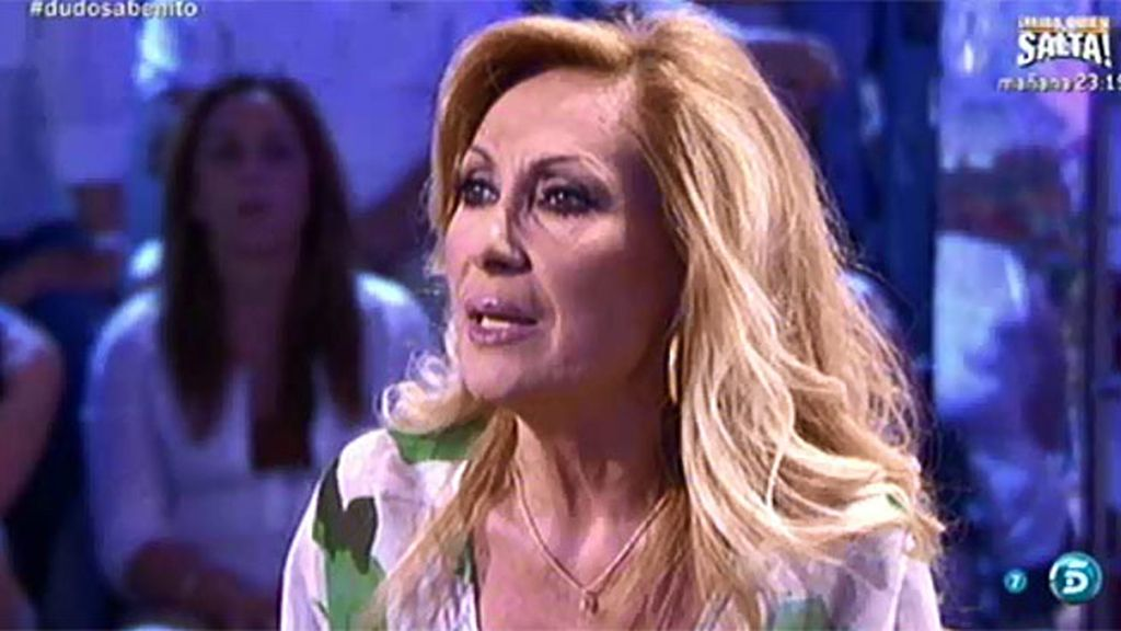 Rosa Benito asegura que su divorcio está ratificado por ella y por Amador Mohedano