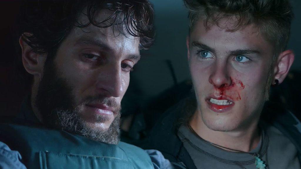 Eloy ve por primera vez a su hijo Ander durante un operativo