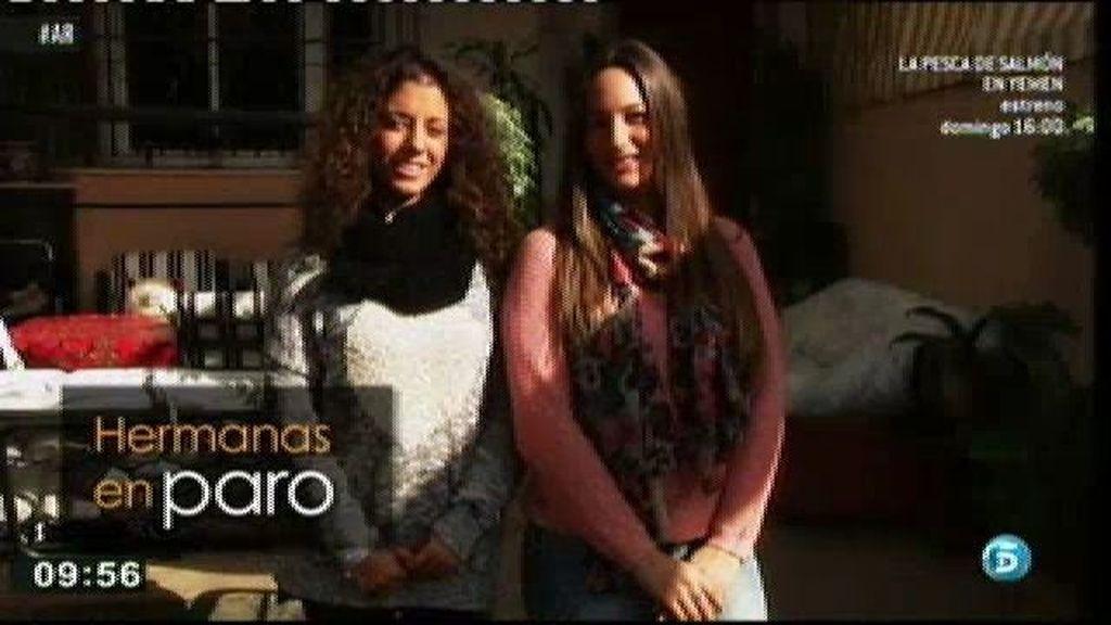 Cristina y María son hermanas y buscan trabajo