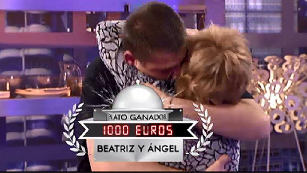 Beatriz y Ángel se convierten en los nuevos ganadores con su bacalao ajoarriero