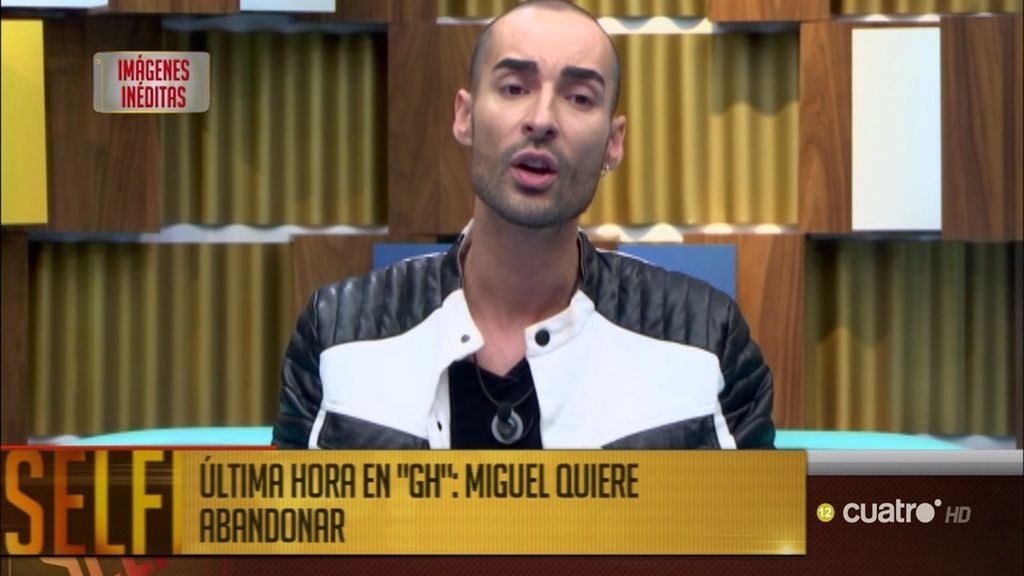 Última hora: Miguel le pide al 'Súper' salir de la casa de 'Gran Hermano'