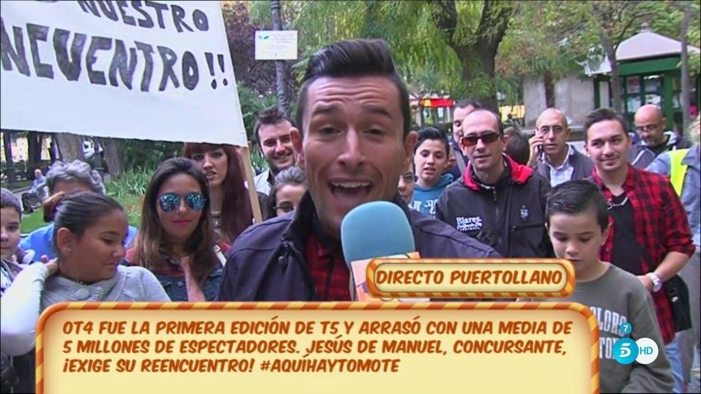 Jesús de Manuel (OT4), reclama el reencuentro de su edición desde Puertollano