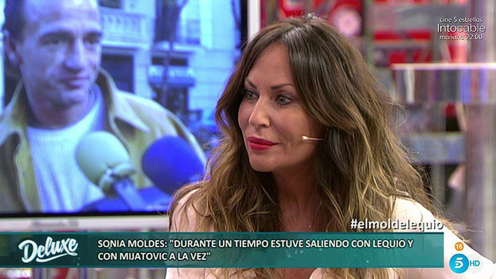 Sonia Moldes relata cómo se las ingeniaba para engañar a Lecquio con Mijatovic