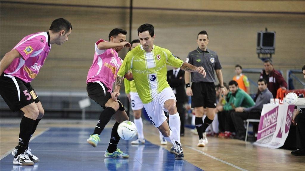 El Marfil Santa Coloma vence al Llevant Manacor en un festival de goles (4-8)