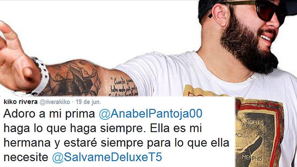 """Kiko Rivera: """"Anabel Pantoja es mi hermana y estaré siempre para lo que necesite"""""""