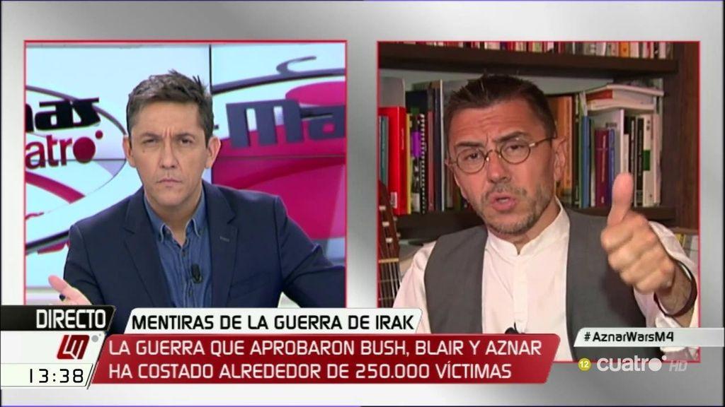 La entrevista a Juan Carlos Monedero, a la carta