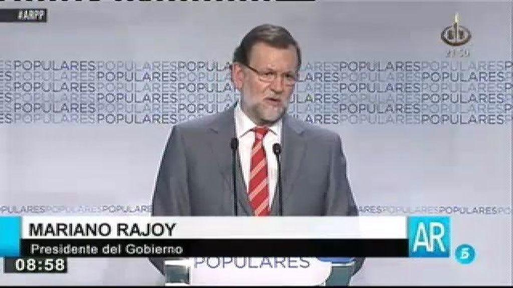 Rajoy rectifica y anuncia cambios