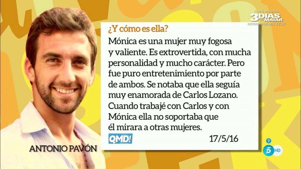"""Antonio Pavón: """"Miriam Saavedra ha mentido a Carlos Lozano"""""""
